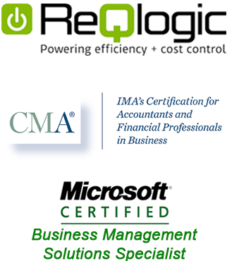authorized ReQlogic      distributor, authorized Syspro distributor, member of the Veteran Business      Owners Association, Microsoft certified, CMA